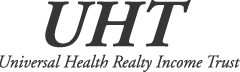 Universal Health Realty Income Trust logo