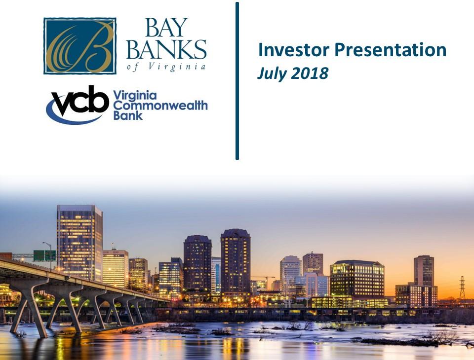 Bay Banks of Virginia Inc logo
