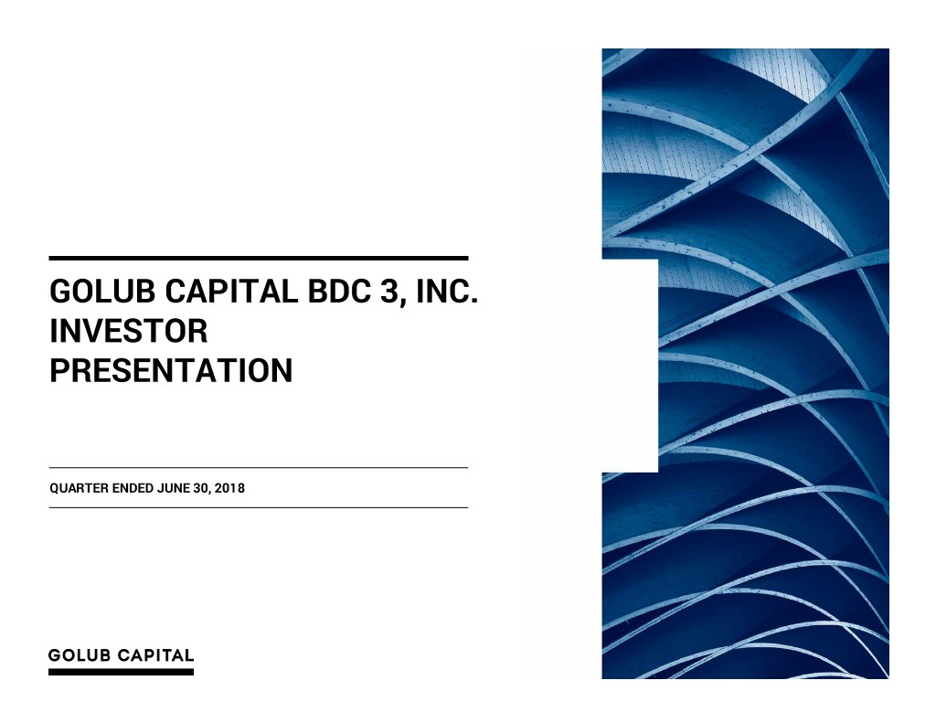 Golub Capital BDC 3, Inc. logo